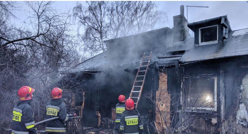 Na Osiedlu Jazdów Spłonął Rodzinny Dom Barbary Wrzesińskiej
