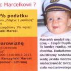 1% podatku dla Marcelka