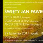 Święty Jan Paweł II - koncert u Boboli