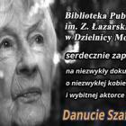 W bibliotece film o Danucie Szaflarskiej
